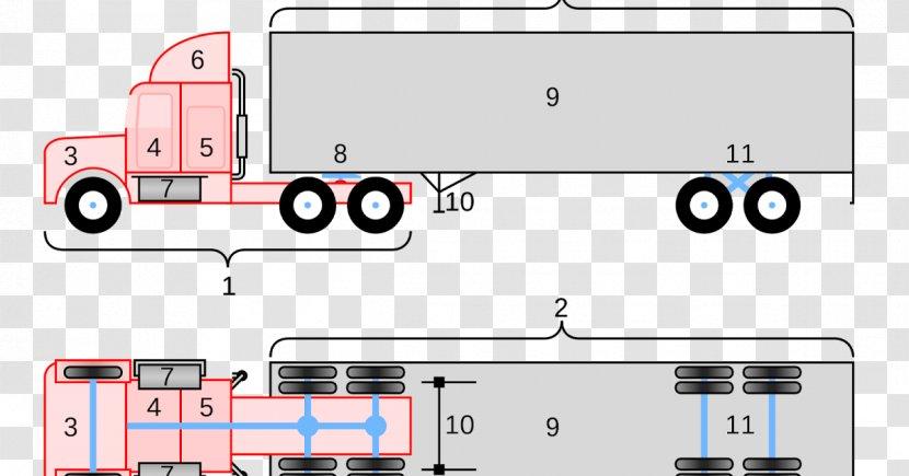 Peterbilt Car Semi Trailer Truck Wiring Diagram Trailer Connector Transparent Png