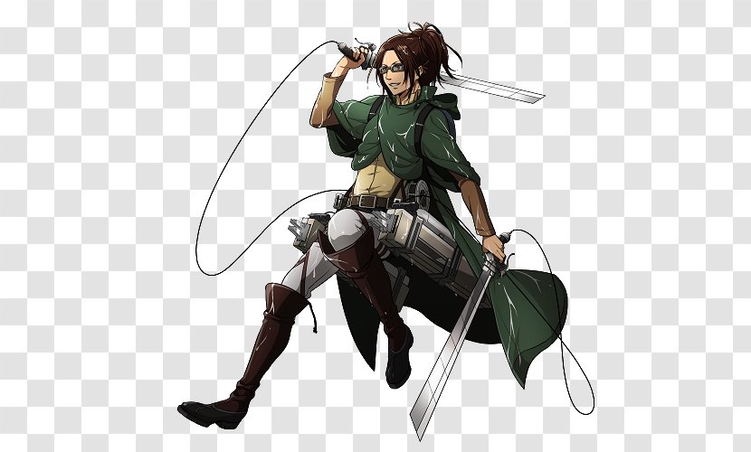 Hange Zoe Eren Yeager Attack On Titan Levi Silhouette Transparent Png