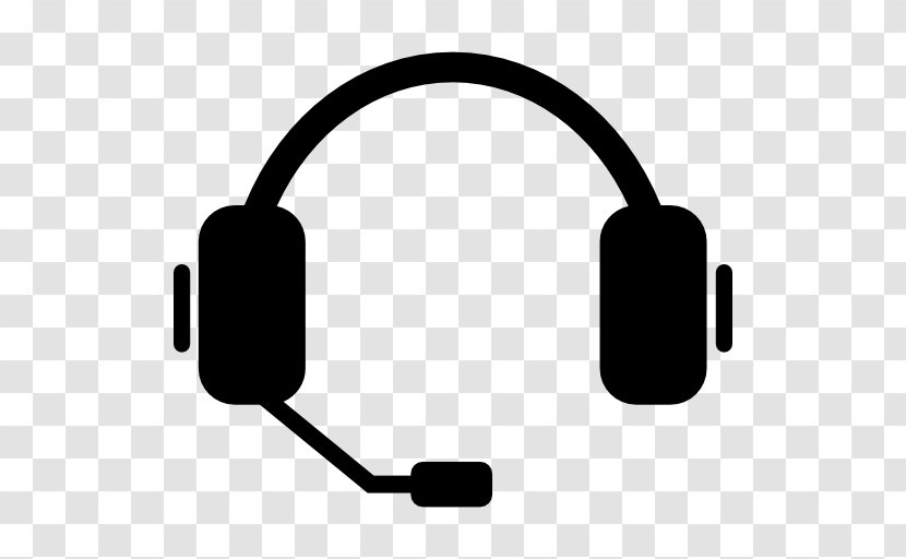 Headphones Headset Microphone Call Centre Technology Vector Transparent Png