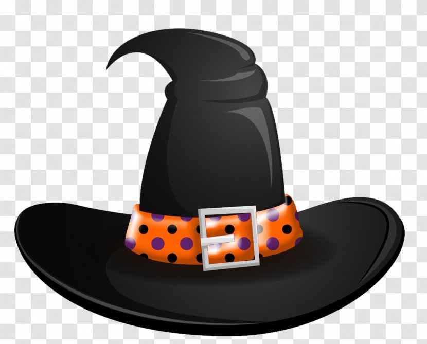 Witch Hat Boszorkxe1ny Halloween Clip Art Transparent Png