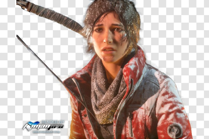 Rise Of The Tomb Raider Shadow Lara Croft Xbox One Transparent Png