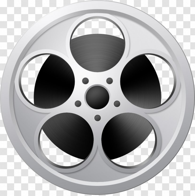 Photographic Film Reel Cinema - Silhouette - Movie Theatre Transparent PNG