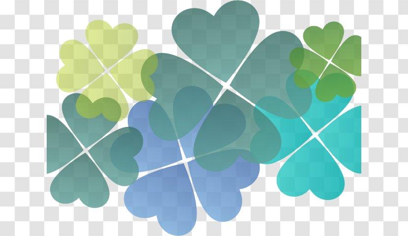 Clip Art Shamrock Image Four-leaf Clover - Leaf - Positive Background Transparent PNG