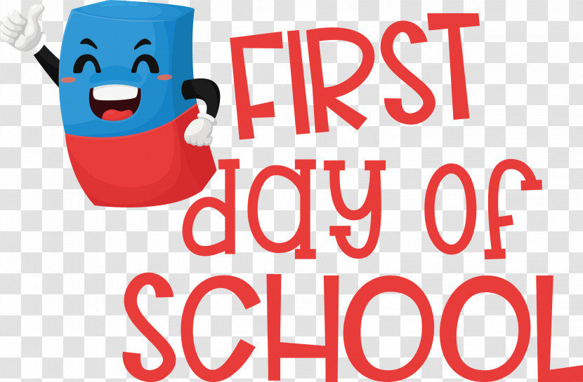 First Day Of School Education School Transparent PNG