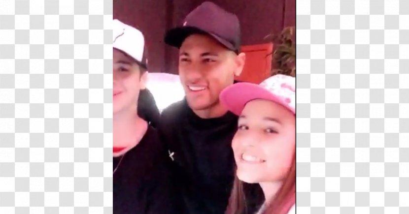 Selfie Pink M - Silhouette - Foto Neymar Transparent PNG