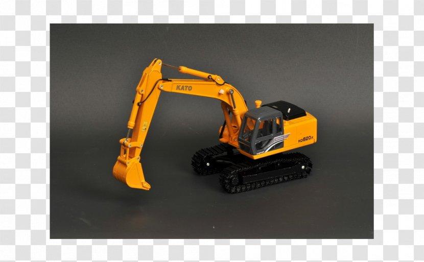 Bulldozer Machine Scale Models Technology - Orange Transparent PNG