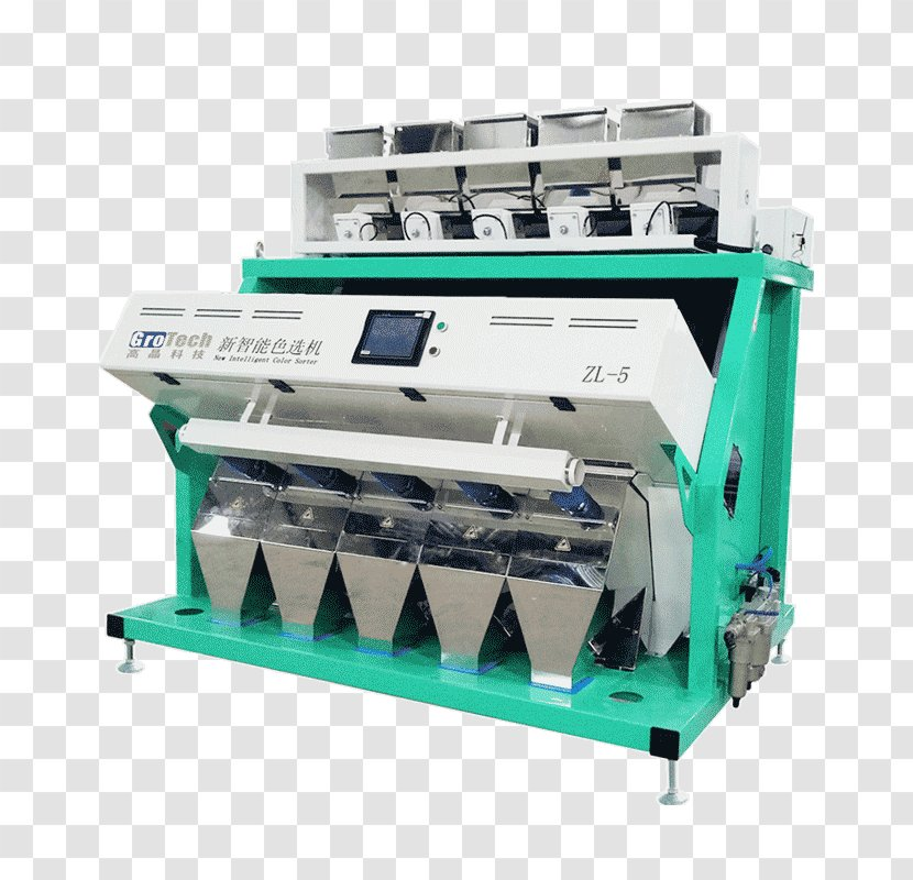 Colour Sorter Rice Color Sorting Machine Seed Manufacturing Maize - Factory Transparent PNG