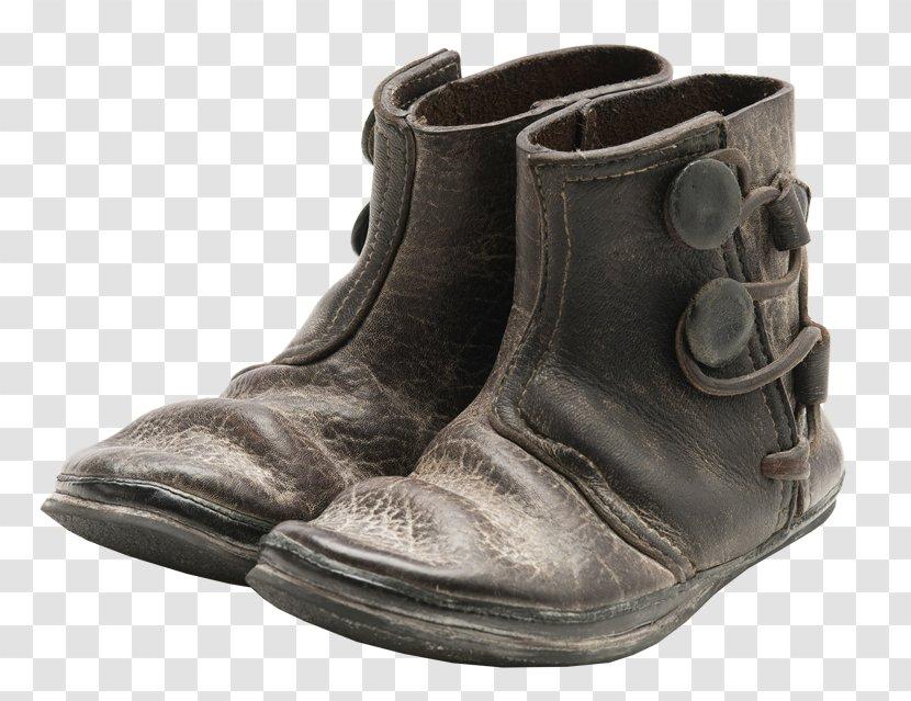 Leather Shoe Boot Walking - Footwear Transparent PNG
