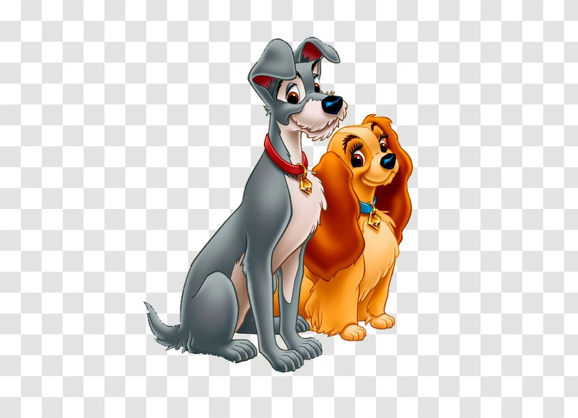 Lady And The Tramp Walt Disney Company Clip Art Dog Animation Transparent Png