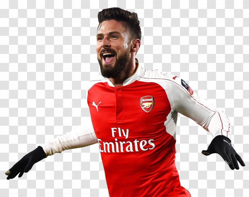 Olivier Giroud Football Player Team Sport Transparent Png