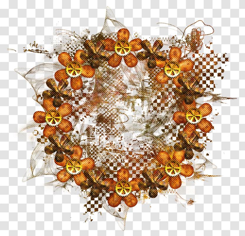 Leaf Circle Plant Pattern Transparent PNG