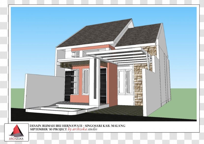 Architecture Design Services In Malang House Kampung Tridi Transparent Png