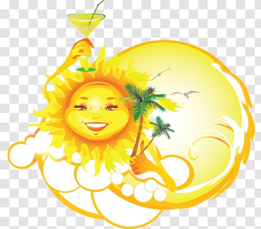 Clip Art - Smiley - Sommer Transparent PNG