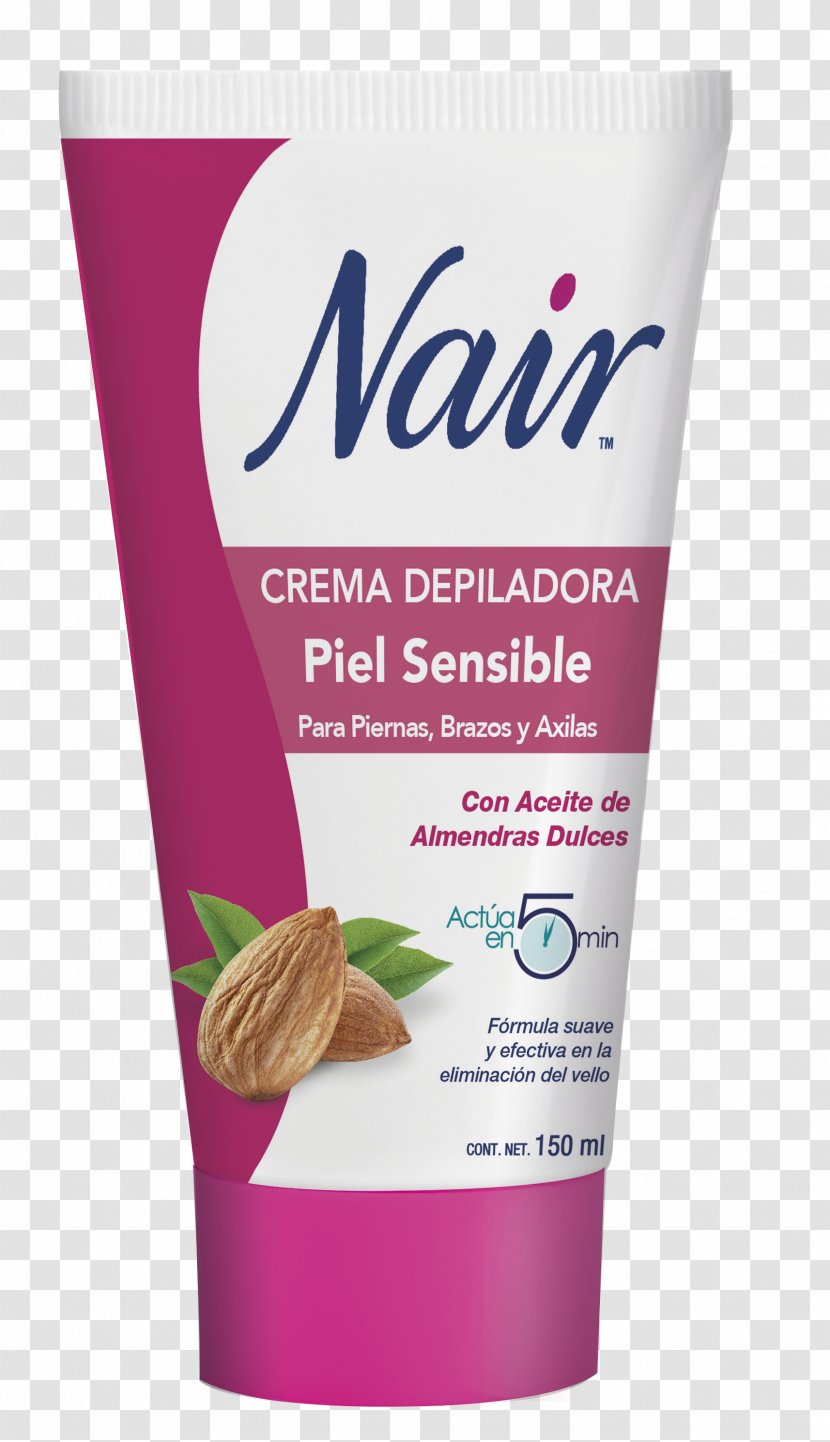 Cream Lotion Hair Removal Nair Skin Moustache Transparent Png