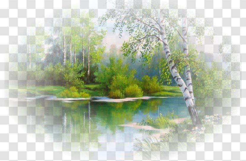 Landscape Painting Man With A Guitar Art Desktop Wallpaper Transparent PNG