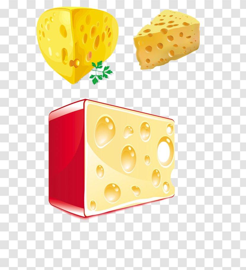 Cheese Euclidean Vector Milk Food Transparent PNG