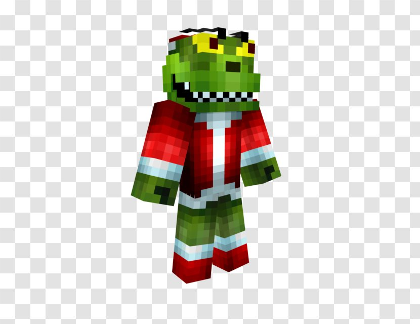 Minecraft Pocket Edition How The Grinch Stole Christmas Christmas Skin Transparent Png