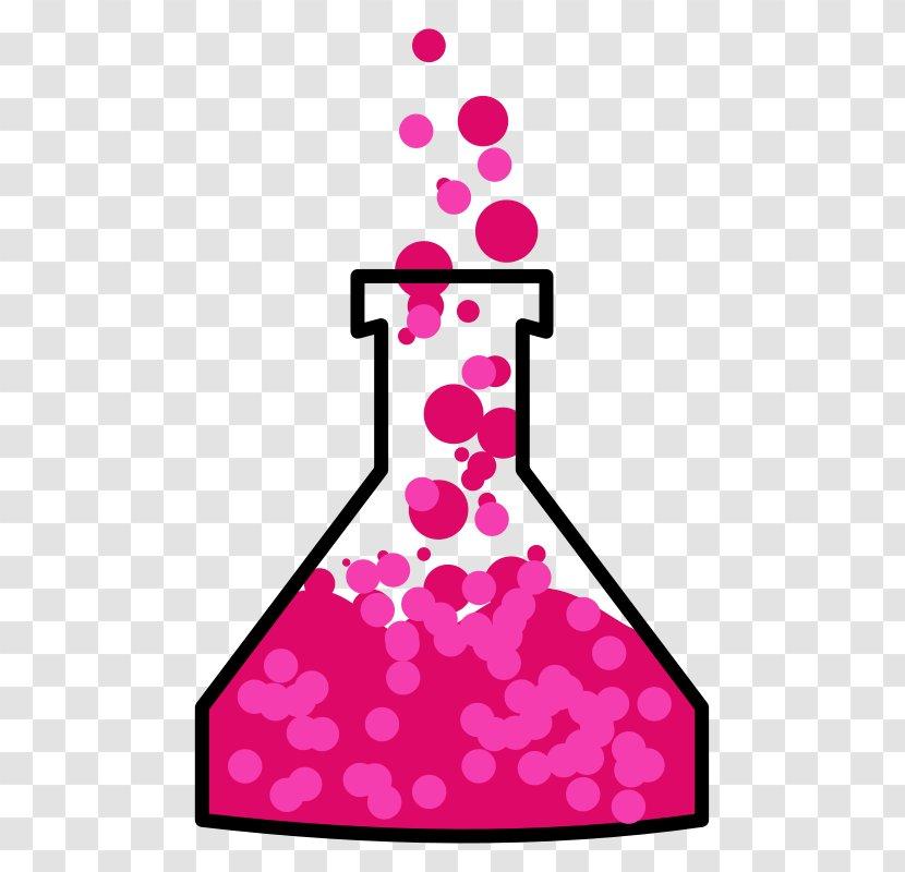 Beaker Laboratory Flasks Chemistry Clip Art - Science Transparent PNG