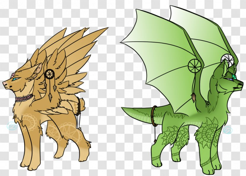 Canidae Horse Dog Cartoon - Wing Transparent PNG