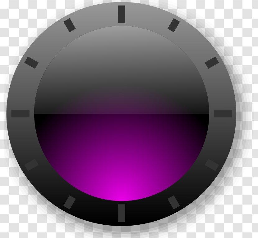 Circle Font - Violet - Design Transparent PNG