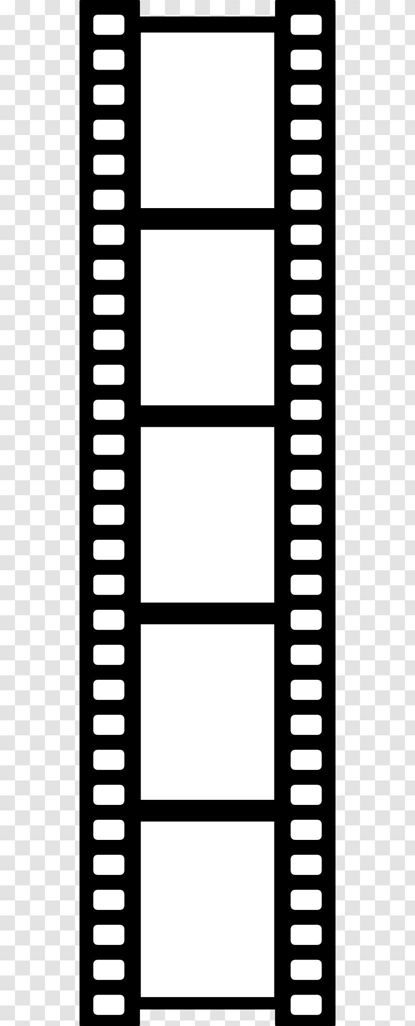 Film Reel Cinema Clip Art - Monochrome - Cliparts Transparent PNG