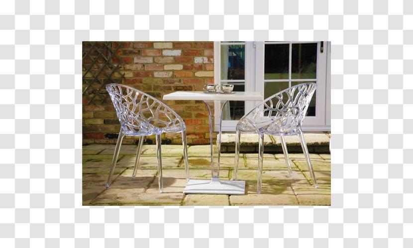 Table Chair Plastic Bistro Sunlounger - Stemware Transparent PNG