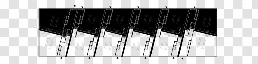 Piano Line Black M - Keyboard - Row Of Houses Transparent PNG