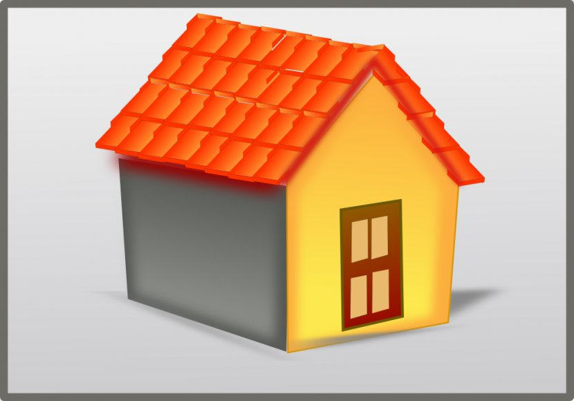 Roof Shingle House Clip Art - Tiles - Svg Image Library Transparent PNG