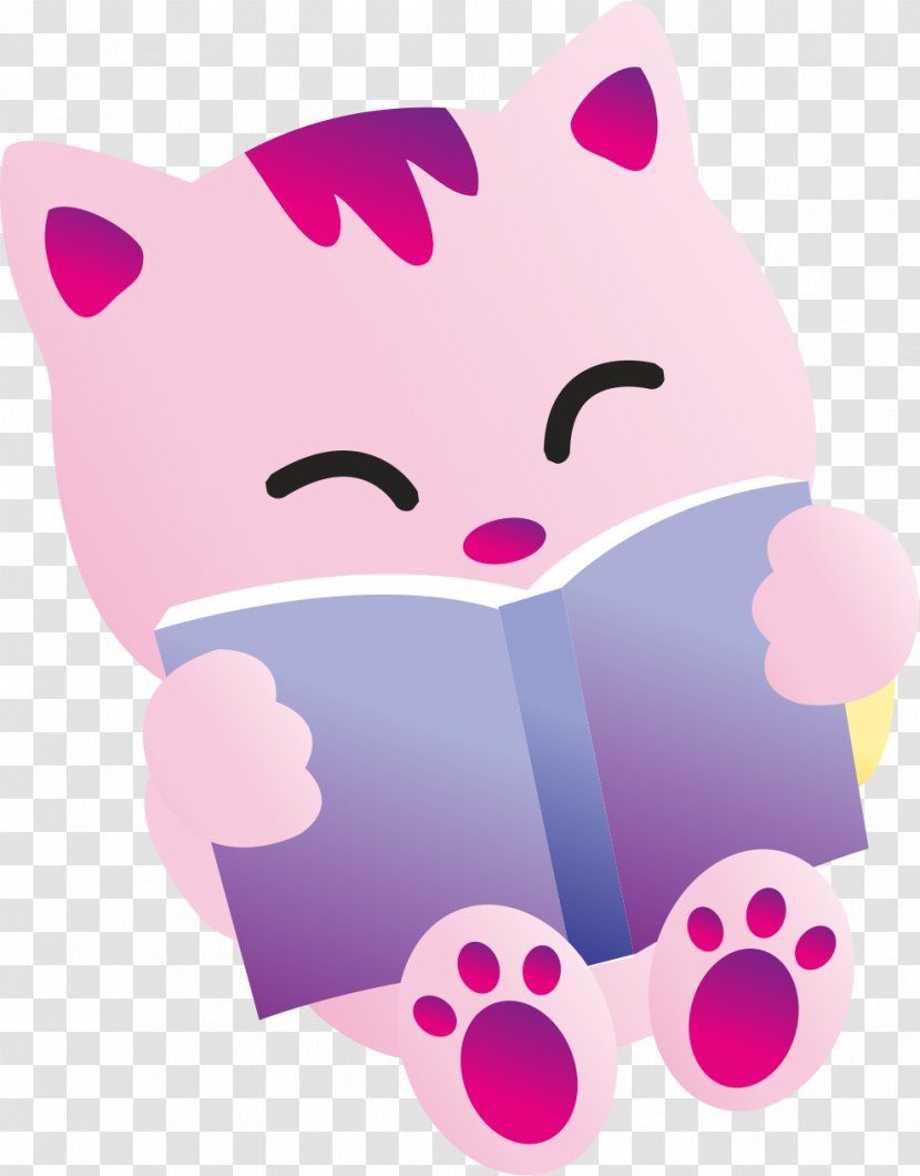 Cute Cat Whiskers Kitten Wallpapers Nose Reading Transparent Png