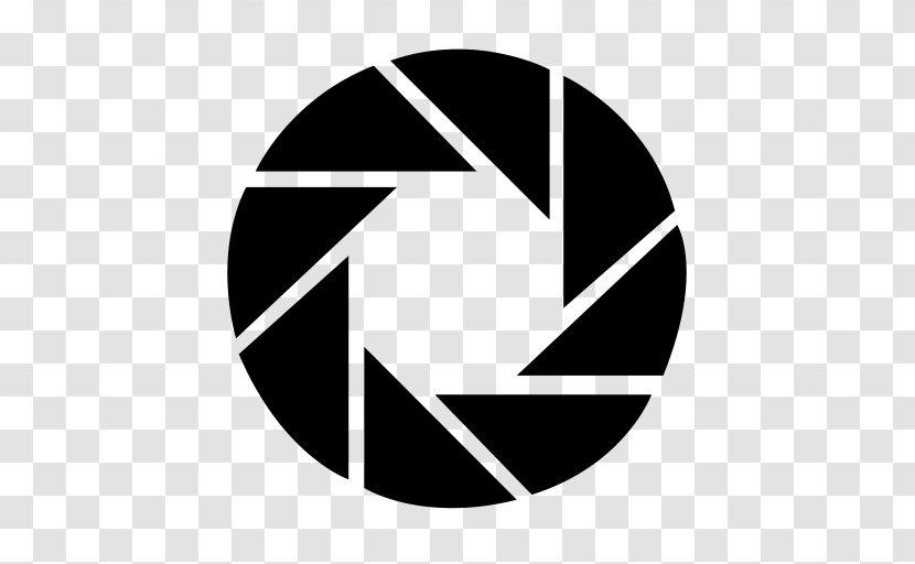 Photography Camera Logo Aperture Laboratories Blackandwhite Symbol Transparent Png
