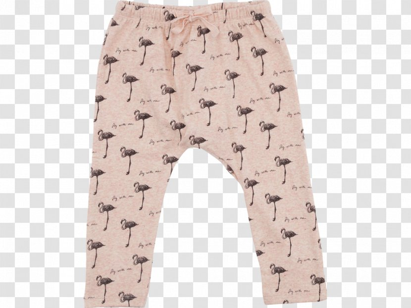 Pants Leggings Tights Clothing Khaki Baby Flamingo Transparent Png