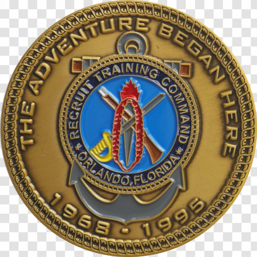 U.S Navy Naval Station Great Lakes Challenge Coin