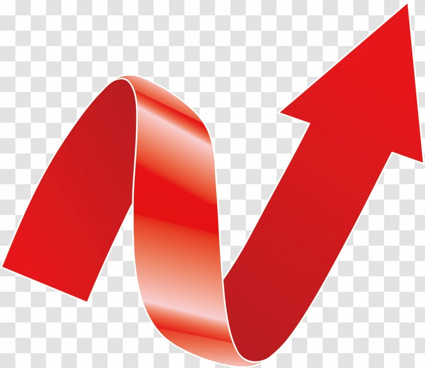 Euclidean Vector Gout Red Icon Obesity Promotions Arrow Ribbon Transparent Png