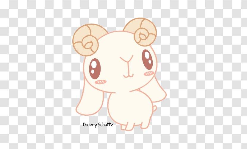Undertale Image Sheep Drawing Heart Transparent Png
