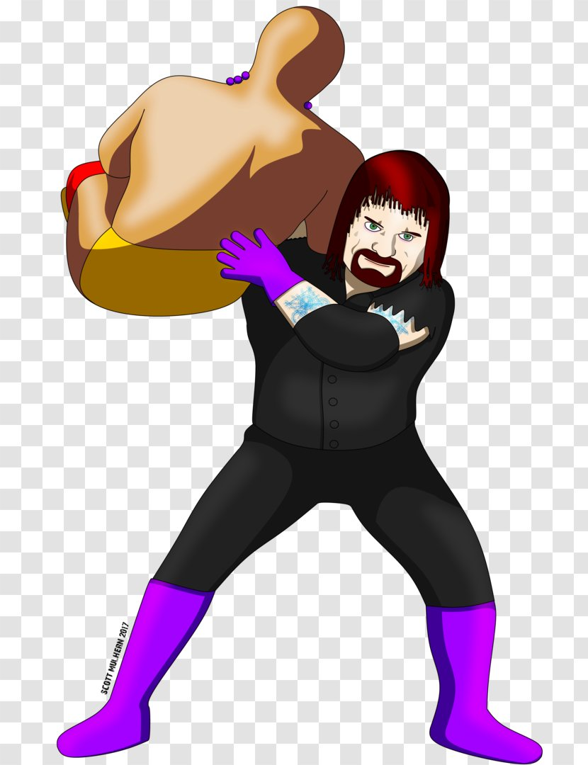 Drawing Deviantart Wrestlemania 33 Chokeslam Fan Art Costume Undertaker 2017 Transparent Png