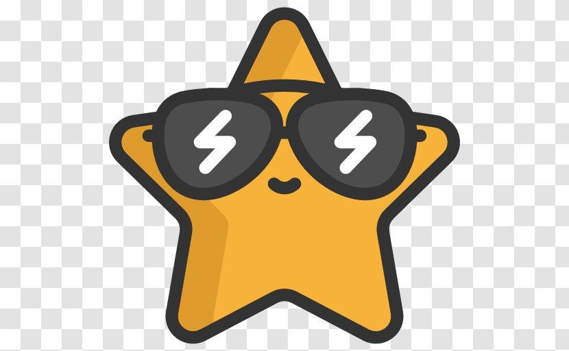 Sunglasses - Eyewear - Yellow Transparent PNG