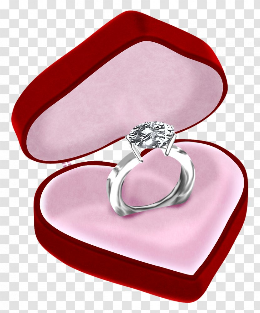 Engagement Ring Wedding Clip Art - Heart - Cliparts Transparent PNG