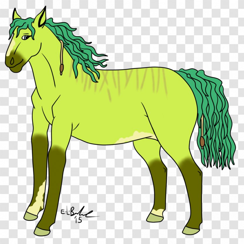 Mule Foal Stallion Mare Mustang - Grass Transparent PNG