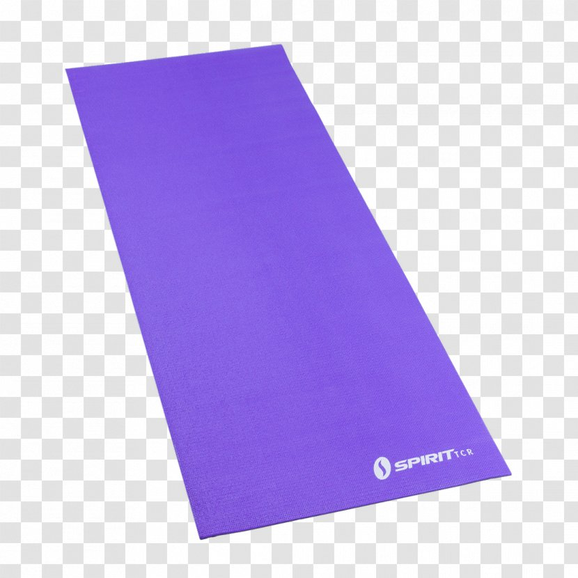 Yoga & Pilates Mats Rectangle - Violet Transparent PNG