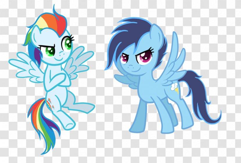 Rainbow Dash Rarity My Little Pony Child - Tree Transparent PNG