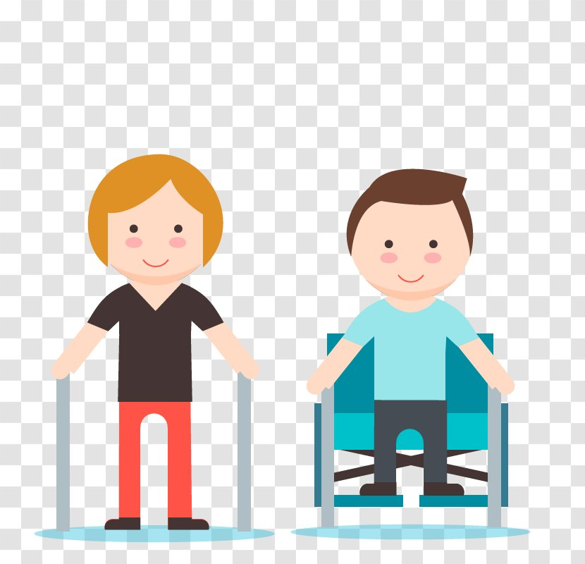 Physical Therapy Medicine Cartoon Occupational Play Rehabilitation Wheelchair Combination Transparent Png