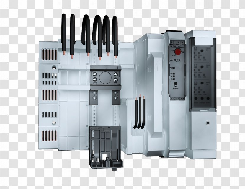 Circuit Breaker Rittal Busbar Electric Power Distribution System Industrial Design Electricity Transparent Png