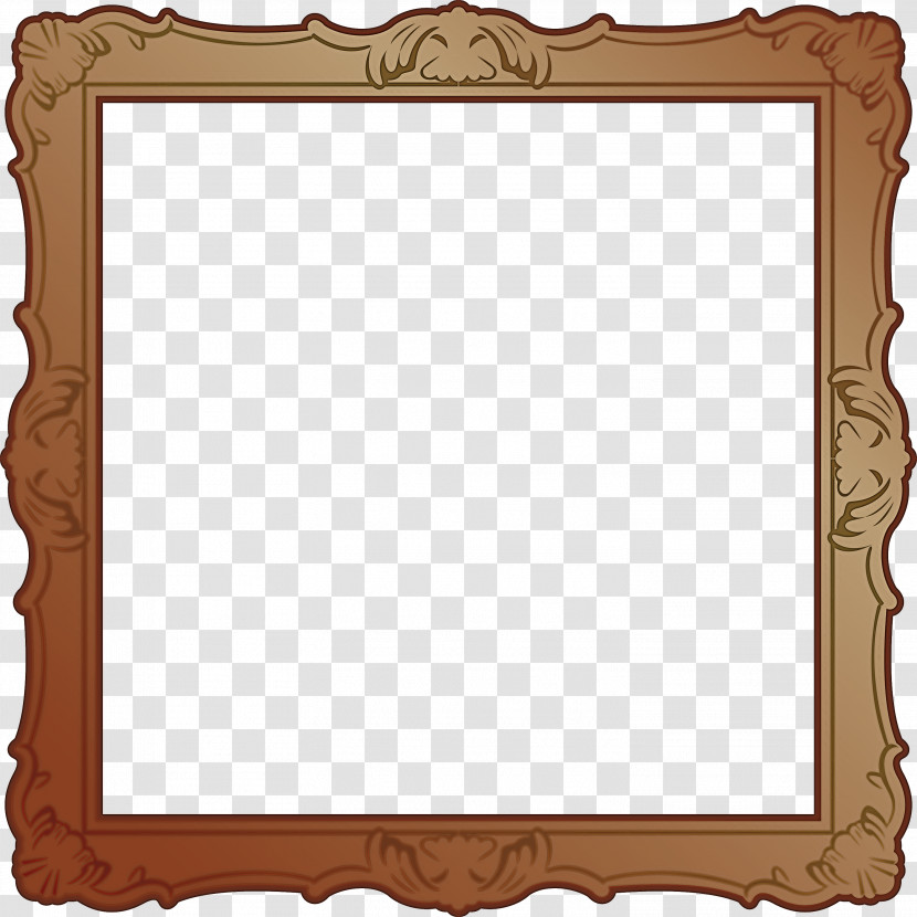 Wood Frame Transparent PNG