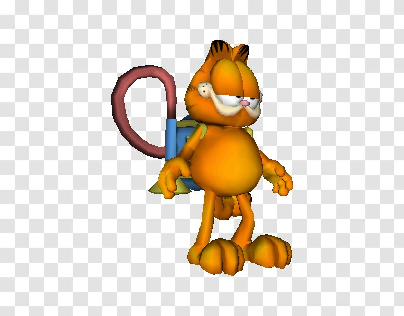 Garfield A Tail Of Two Kitties Playstation 2 Lion Video Games Garfield Pictogram Transparent Png