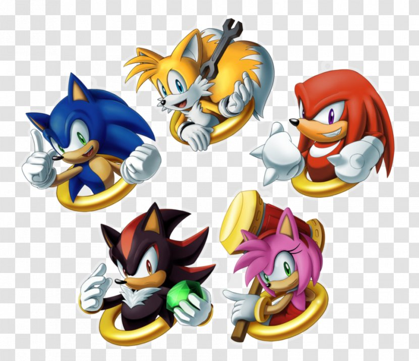 Sonic & Knuckles Shadow The Hedgehog Tails Echidna Transparent PNG