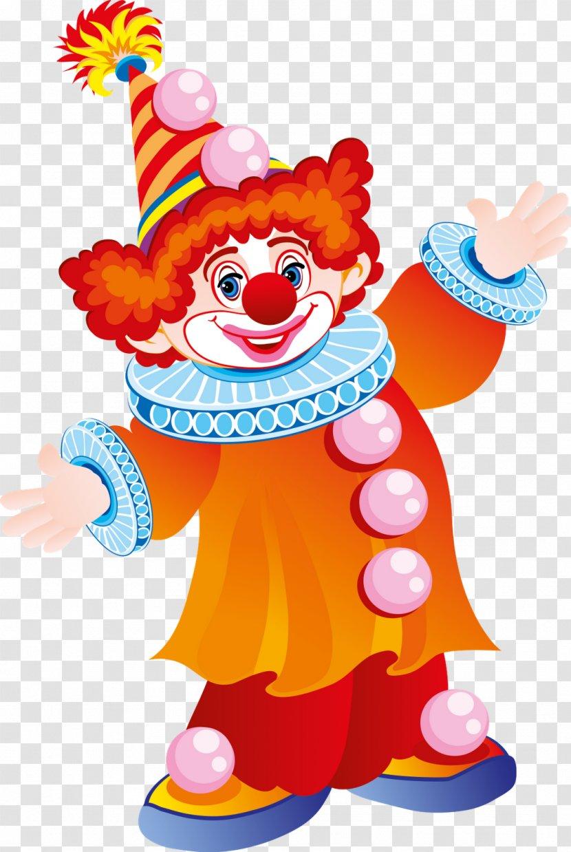 Joker Clown Clip Art - Party Hat - Circus Transparent PNG