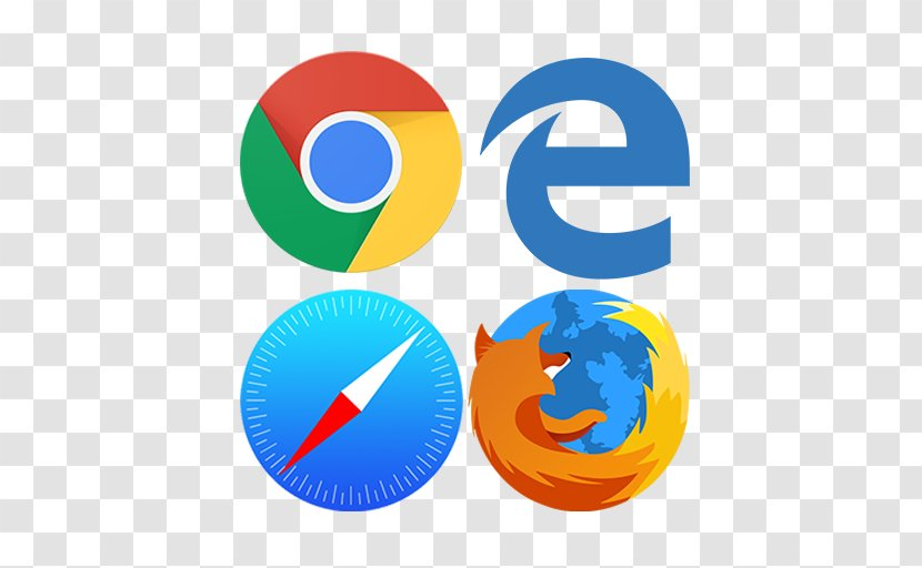 Web Browser Microsoft Edge Logo Push Technology Internet Web2 Transparent Png
