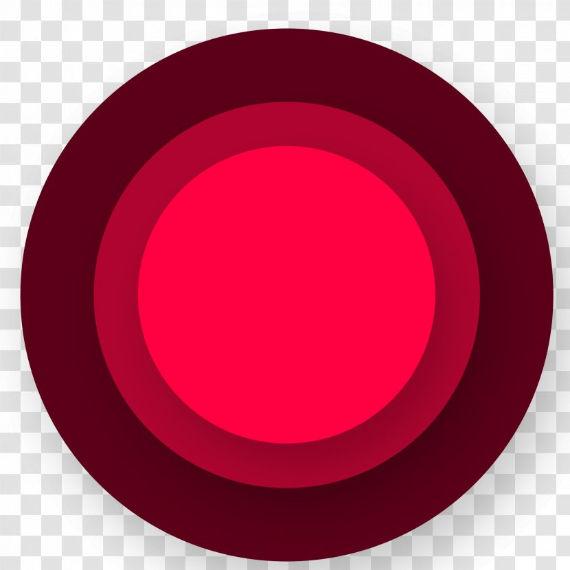 Red Download - Maroon - Gradient Circle Creative Transparent PNG