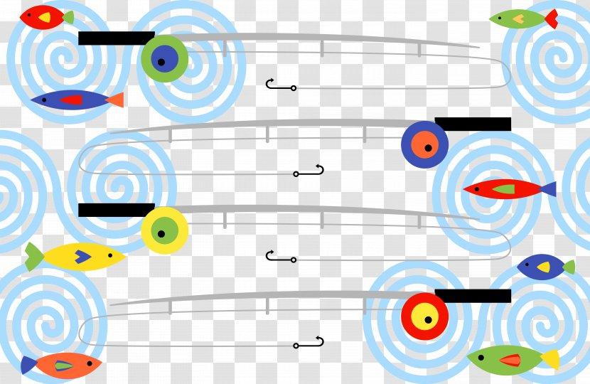 Fishing Rod Angling Reel Cartoon Transparent Png