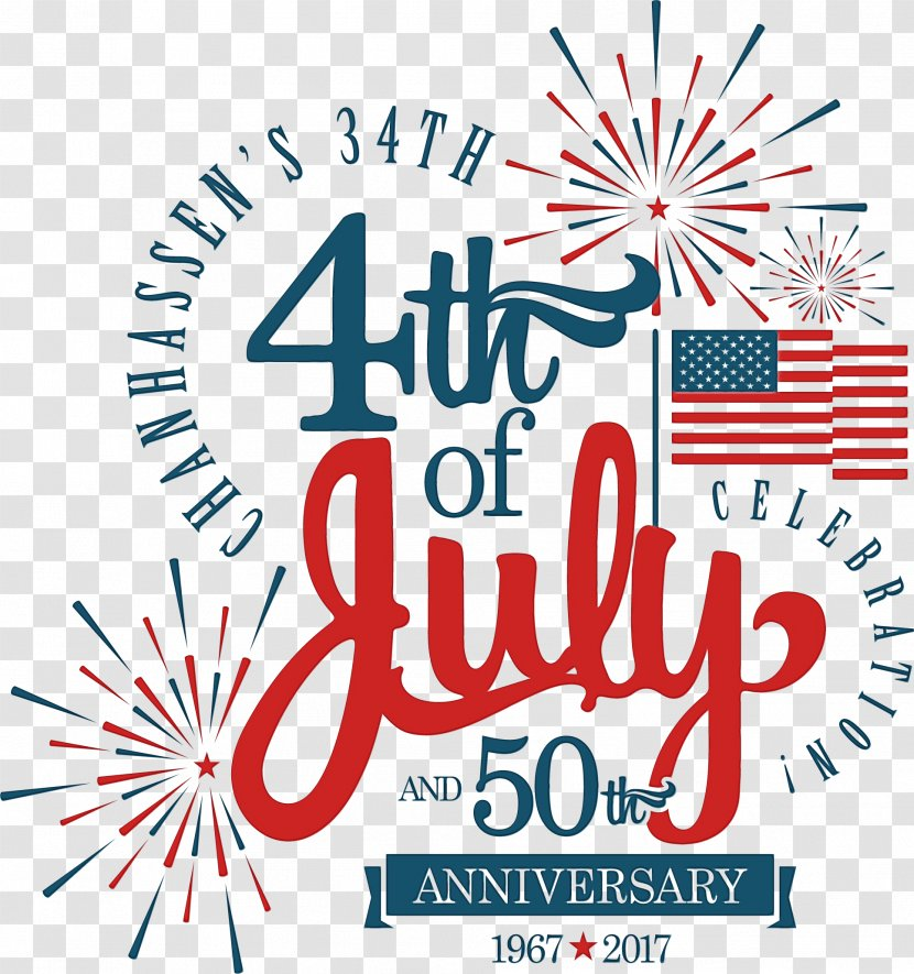 Independence Day United States 4th Of July Party Parade Event - Christmas Eve - Logo Transparent PNG